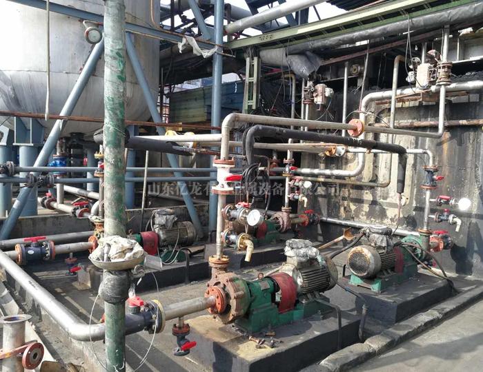 污水处理钛管线