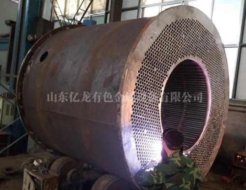 钛镍锆换热设备