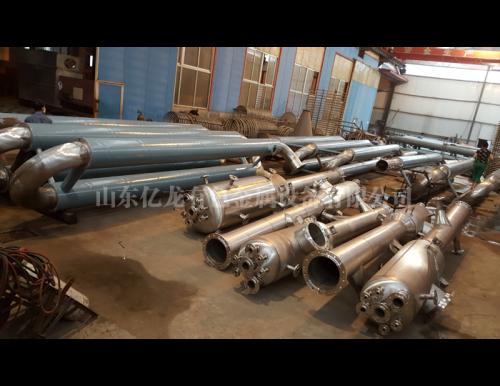 陕西哈氏合金C276管式反应器、缓冲罐